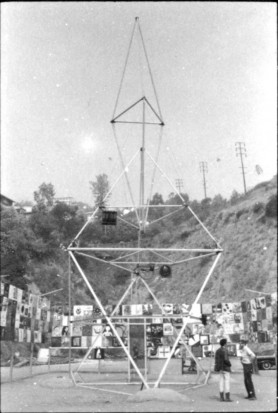 <p>Artists' Peace/Protest Tower, 1966</p>