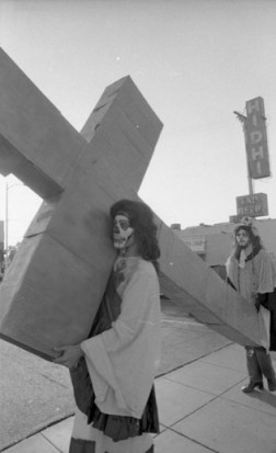 <p>ASCO Stations of the Cross performance, 1971</p>